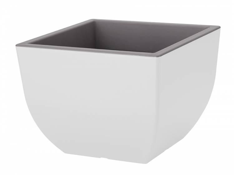 Doniczka MUNA Kwadratowa Biały-Beton