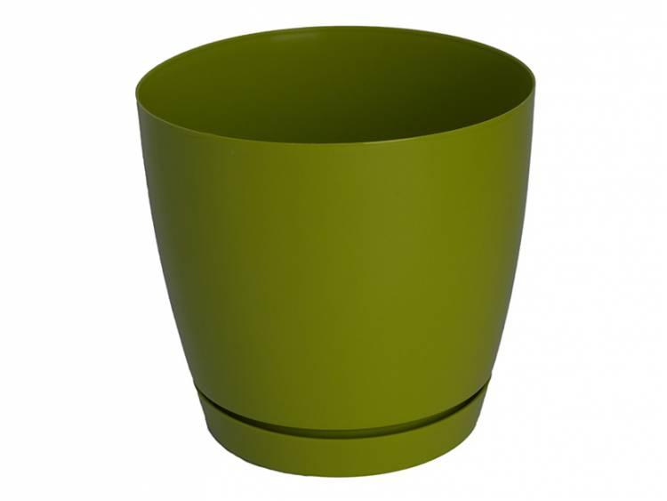 Doniczka TOSCANA Zielony Oliwkowy
