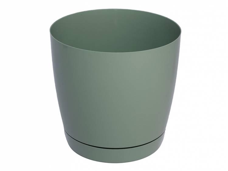 Doniczka TOSCANA Zielony Pastel