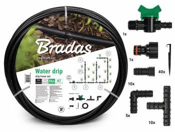 Zestaw z wężem kroplującym WATER DRIP 50m