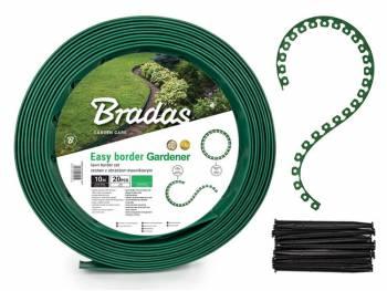 Obrzeże trawnikowe EASY BORDER zielone - ZESTAW