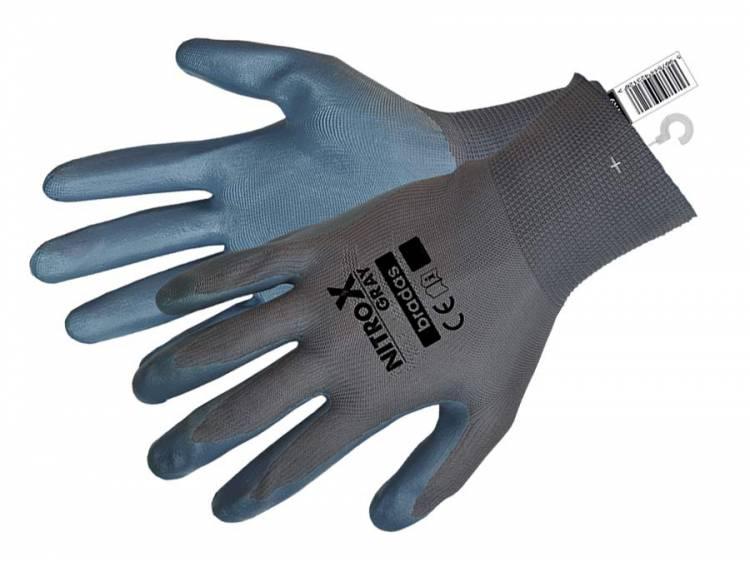 Rękawice ochronne NITROX GRAY nitryl