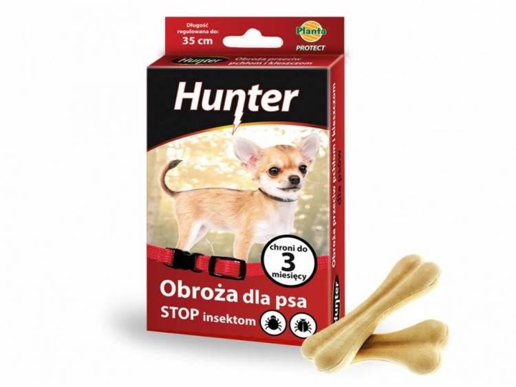 Obroża dla psa przeciw pchłom i kleszczom 35cm