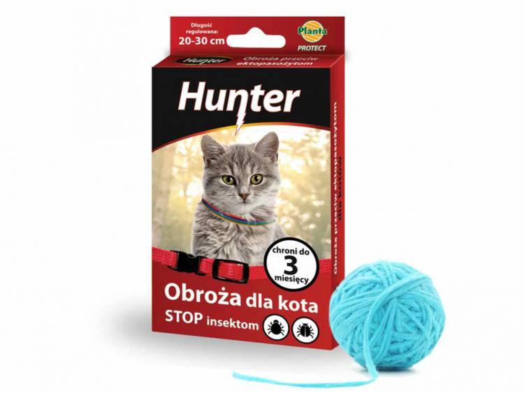 Obroża dla kota przeciw ektopasożytom