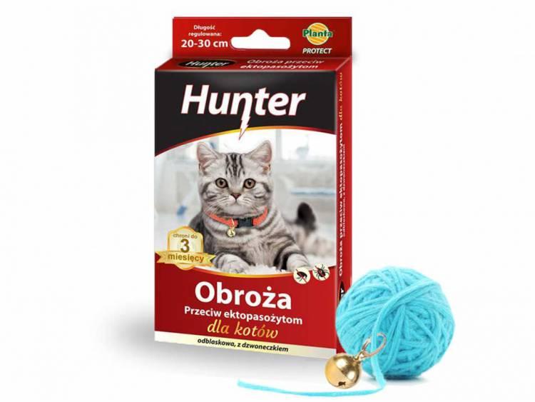 Obroża dla kota STOP insektom z dzwoneczkiem