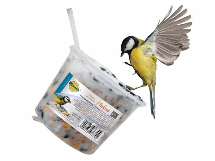 Dzwonek tłuszczowy wyciągany dla ptaków 400g PLANTA FAUNA