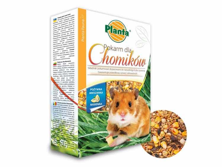 Pokarm dla chomików PLANTA 0,5kg