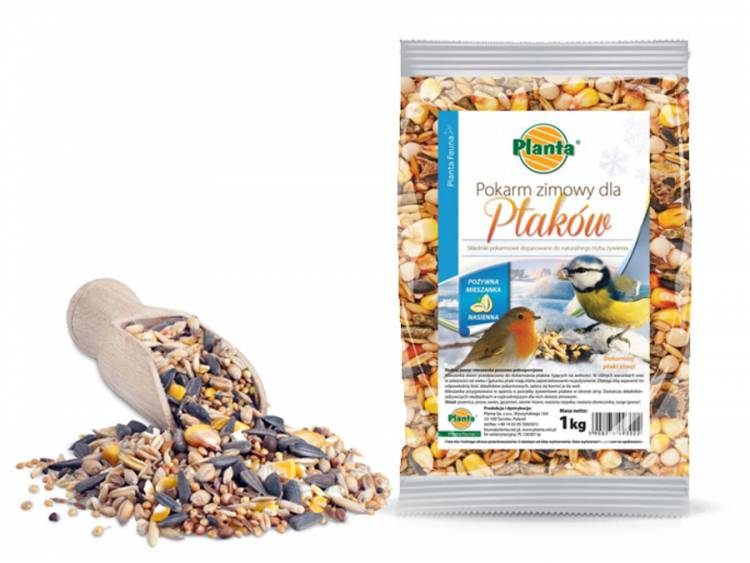 Pokarm zimowy dla ptaków 1kg PLANTA FAUNA