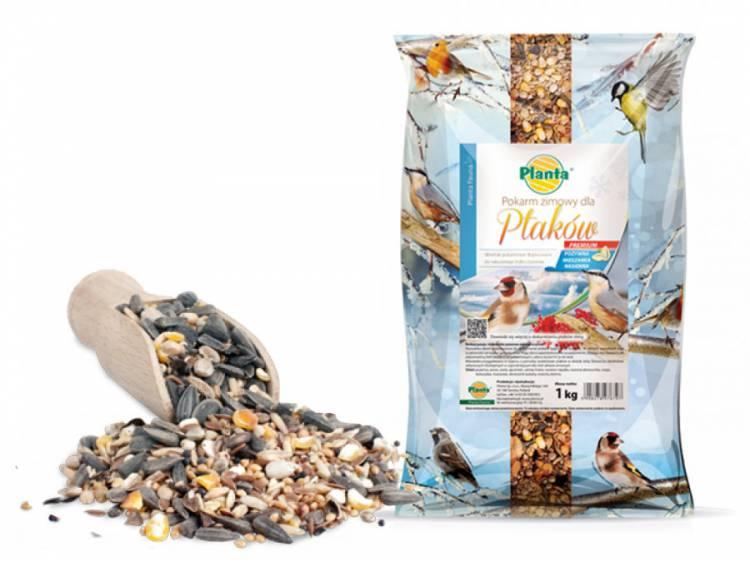 Pokarm zimowy dla ptaków PREMIUM 1kg PLANTA FAUNA