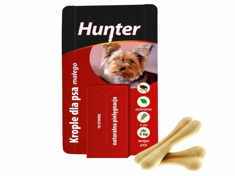 Krople przeciw pchłom dla psa małego do 5kg