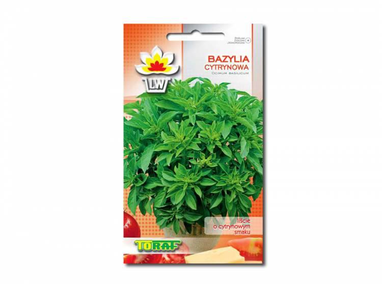 Nasiona Bazylia cytrynowa 0,5g