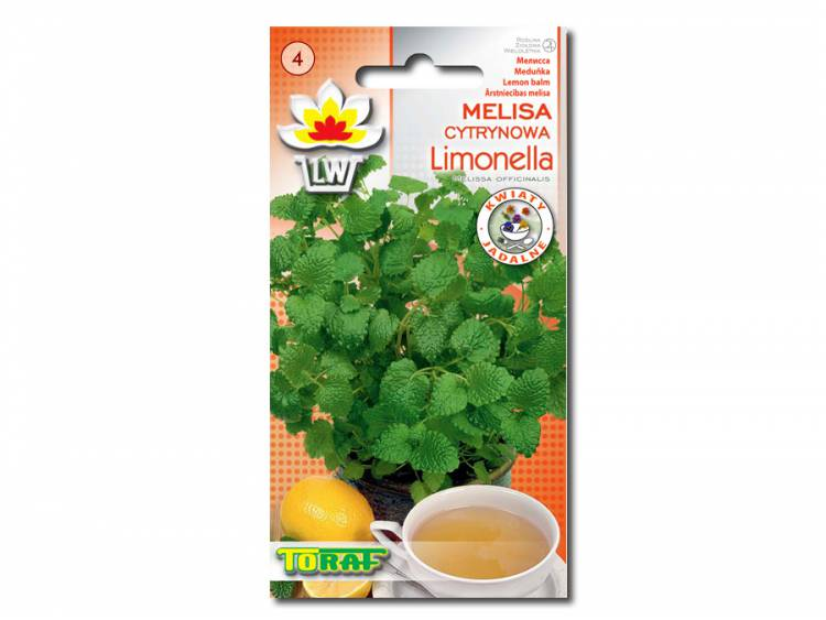 Nasiona Melisa cytrynowa LIMONELLA 0,5g
