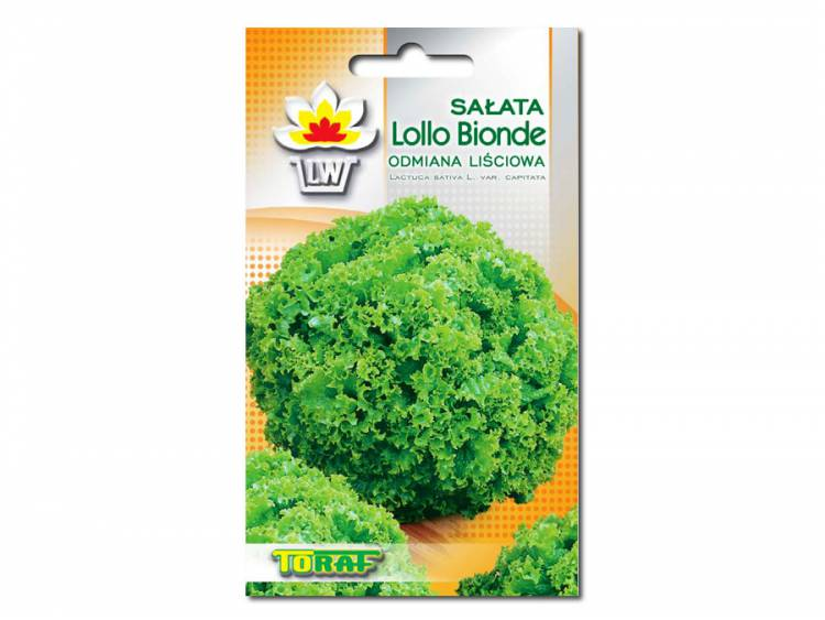 Nasiona Sałata liściowa Lollo Bionde 1g