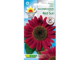 Nasiona Słonecznik ozdobny Red Sun czerwony 2g