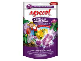 Kapsułki nawozowe do rododendronów i innych kwasolubnych 14szt. Agrecol