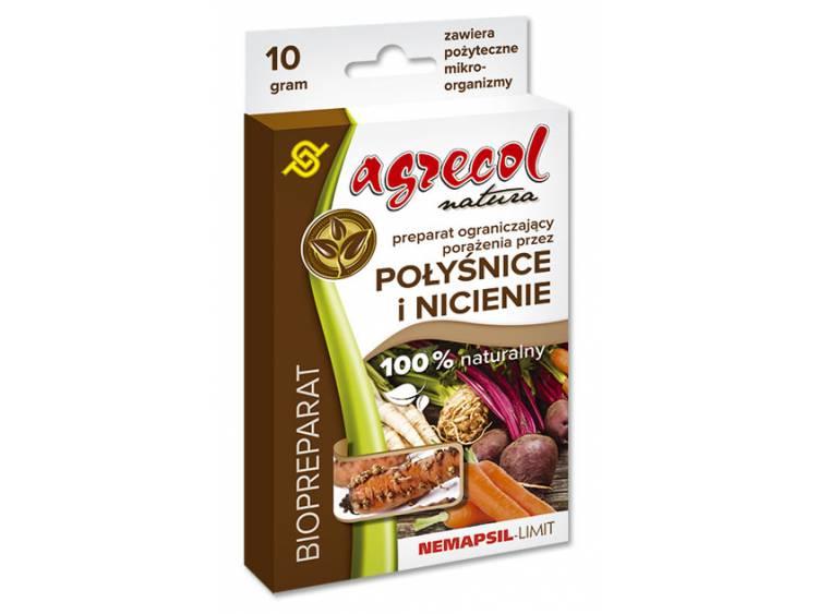 Biopreparat na połyśnice i nicienie Nemapsil-LIMIT Agrecol 10g