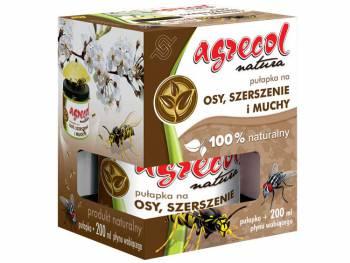 Pułapka na osy, szerszenie i muchy + płyn wabiący - Agrecol