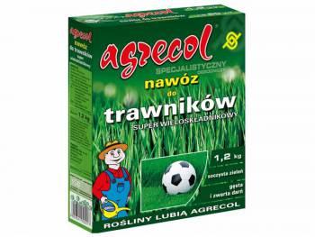 Nawóz do trawników wieloskładnikowy - Agrecol 1,2kg