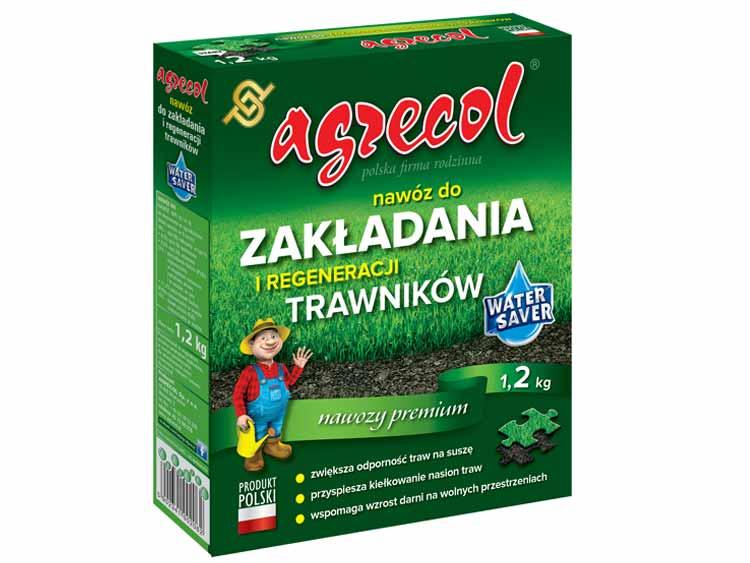 Nawóz do zakładania i regeneracji trawnika - Agrecol 1,2kg