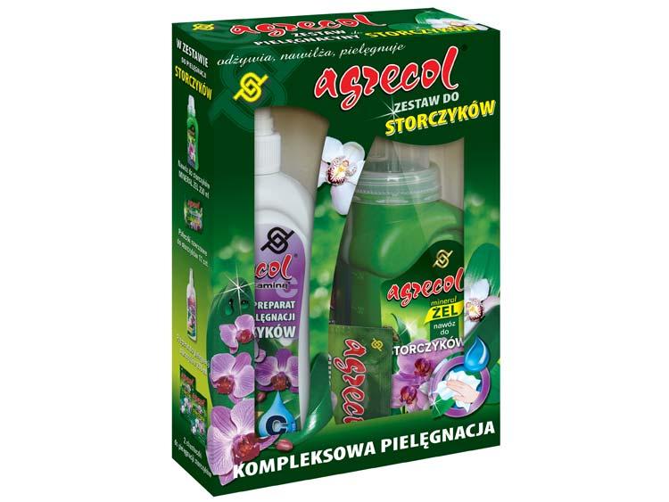 Zestaw do pielęgnacji storczyków 4w1 - Agrecol