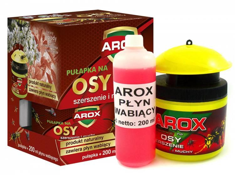 Pułapka na osy, szerszenie i muchy + płyn wabiący AROX