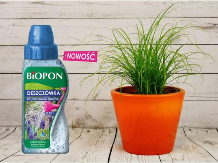 Deszczówka do podlewania kwiatów BIOPON 250 ml