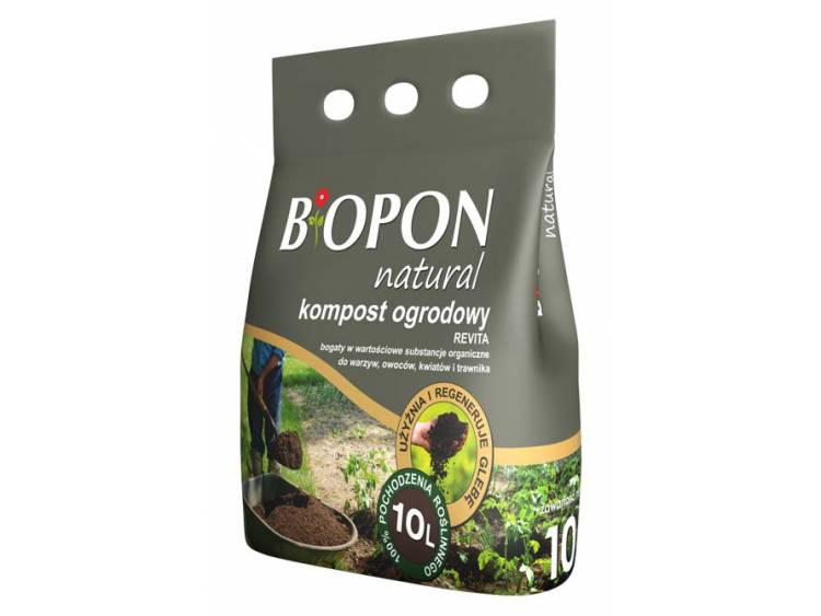 Kompost ogrodowy REVITA BIOPON 10L