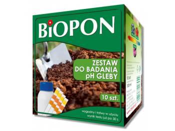 Zestaw do badania pH gleby BIOPON