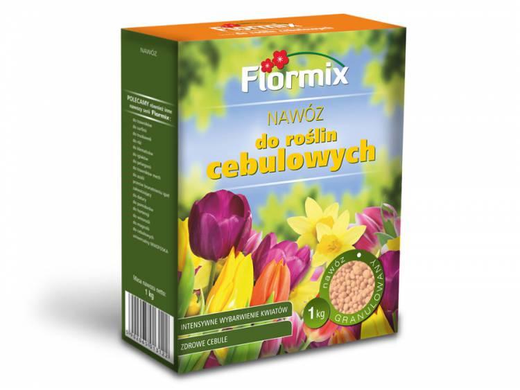 Nawóz do roślin cebulowych FLORMIX 1kg karton