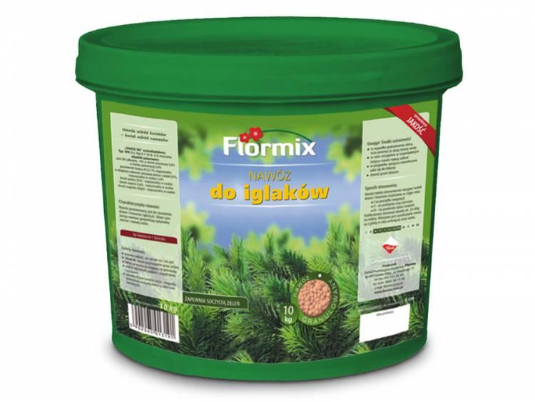Nawóz do iglaków FLORMIX 10kg wiaderko