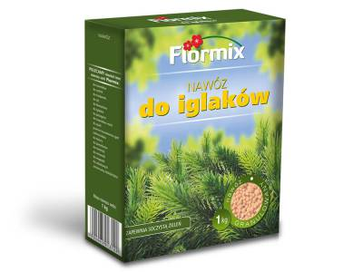 Nawóz do iglaków FLORMIX 1kg karton