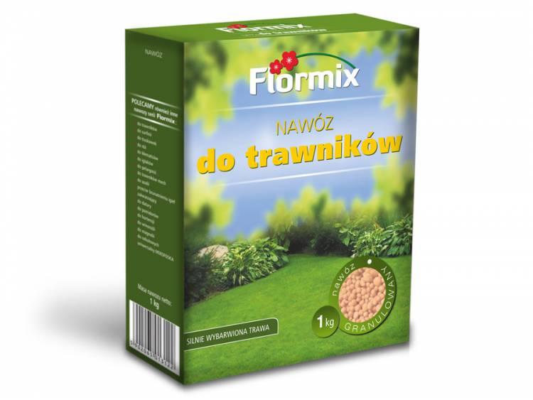 Nawóz do trawników FLORMIX 1kg karton