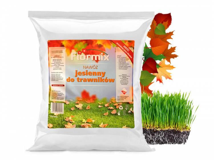 Nawóz jesienny do trawników FLORMIX