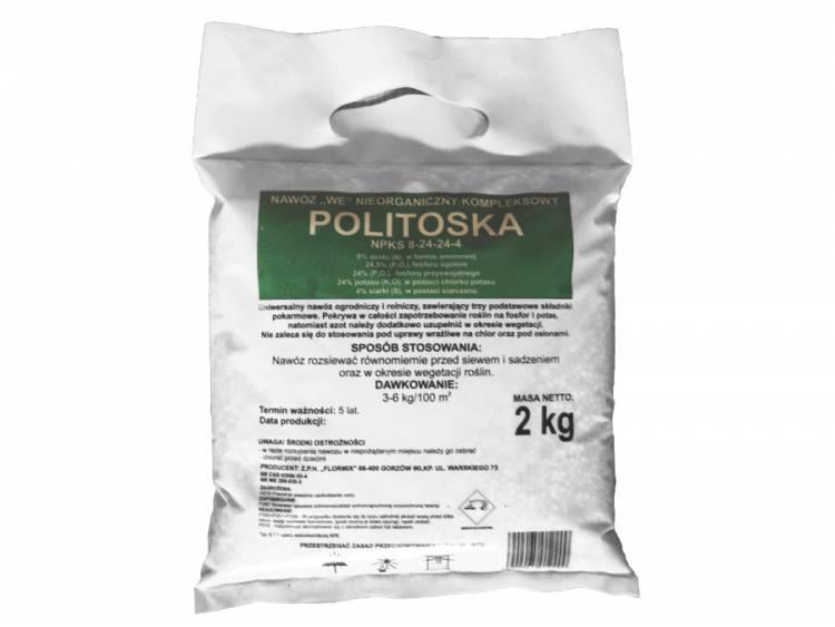 Nawóz Politoska FLORMIX 2kg