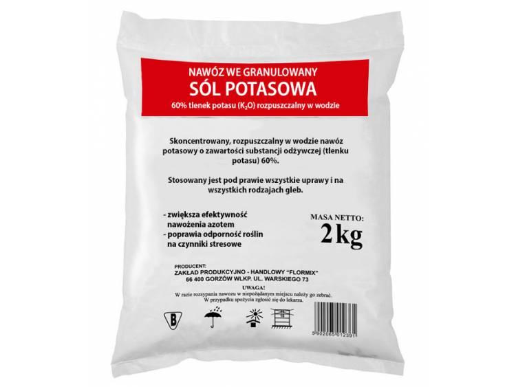 Sól potasowa FLORMIX 2kg
