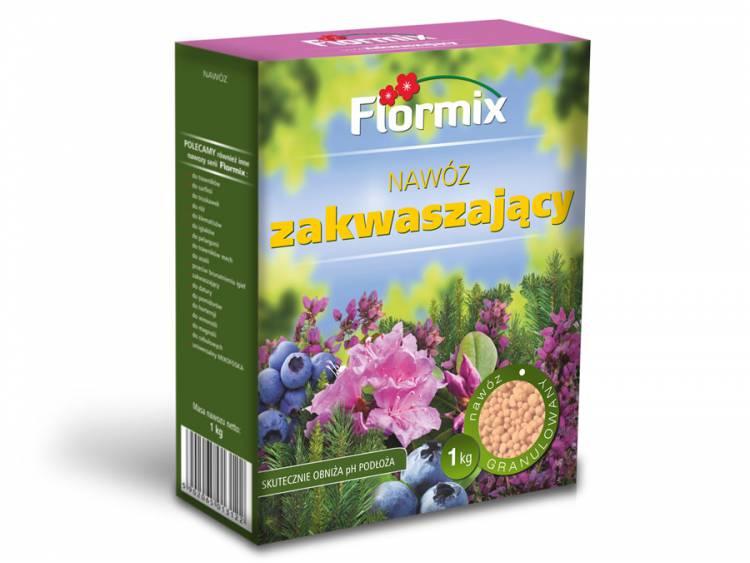 Nawóz zakwaszający FLORMIX 1kg karton