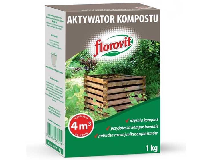 Aktywator kompostu - FLOROVIT 1Kg