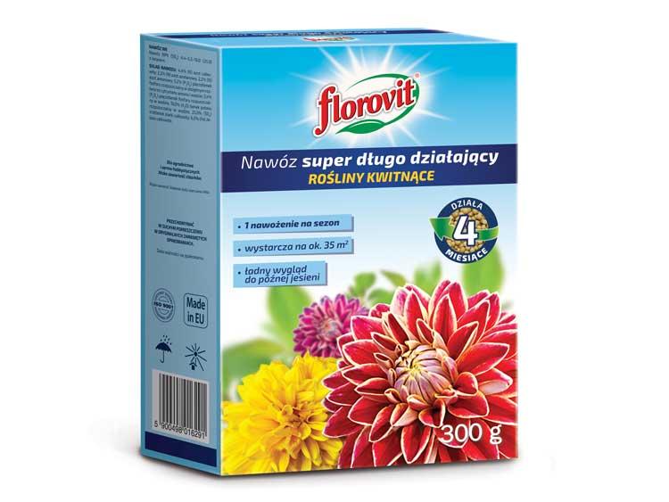 Nawóz długodziałający do roślin kwitnących - FLOROVIT 300g