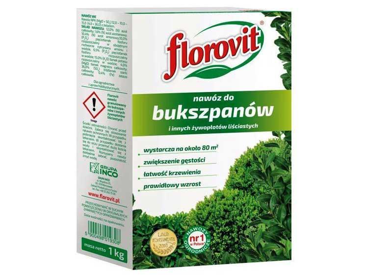 Nawóz do bukszpanów FLOROVIT 1Kg