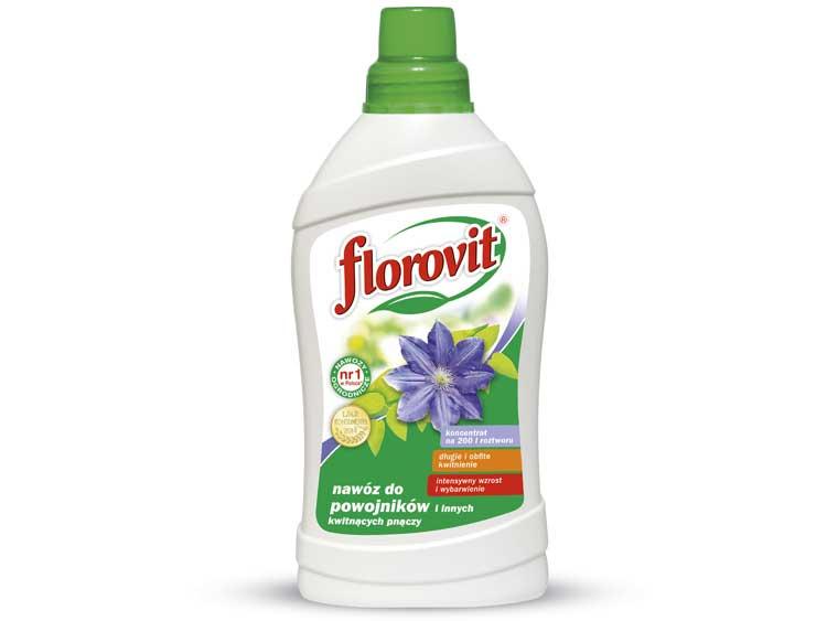 Nawóz płynny do powojników i kwitnących pnączy - Florovit 1L
