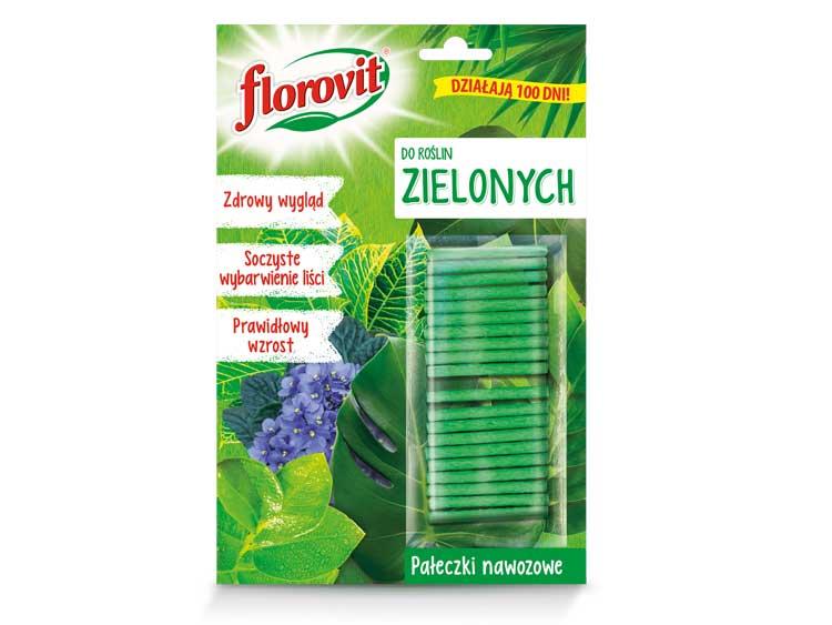 Pałeczki nawozowe do roślin zielonych - Florovit 20szt.