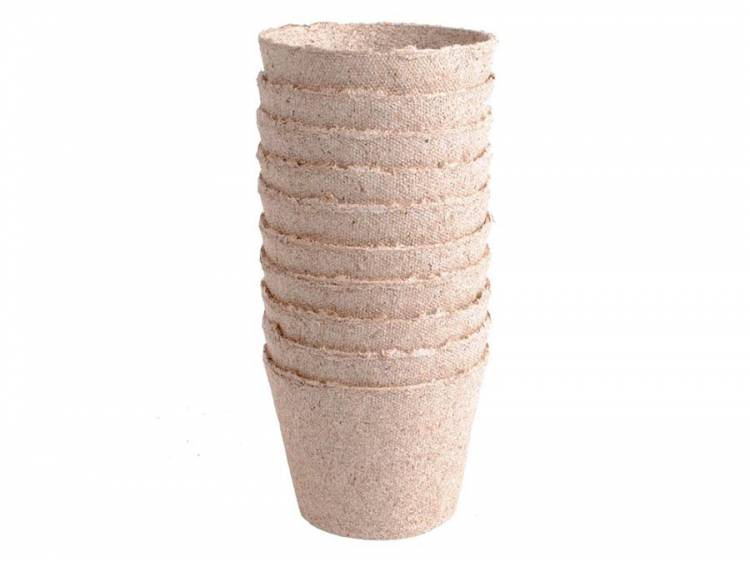 Doniczki torfowe do rozsad 10x8cm - 10szt