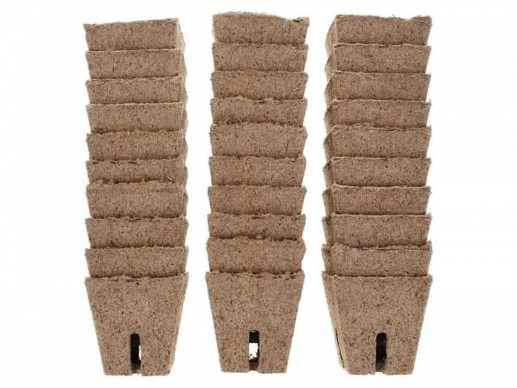 Doniczki torfowe do rozsad 5,5x5,5cm - 30szt