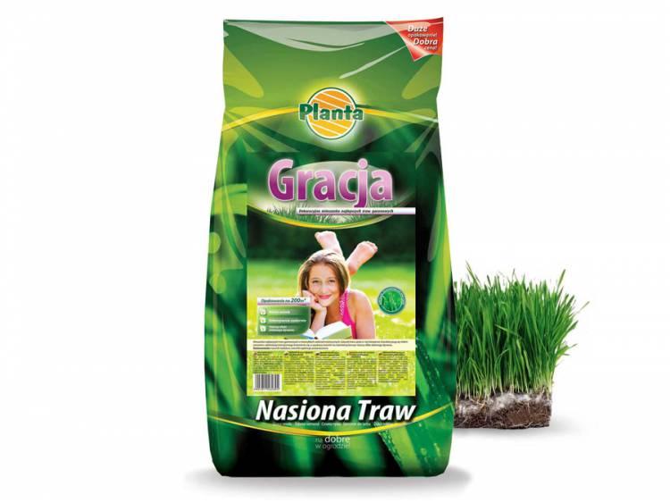 Trawa GRACJA - mieszanka najlepszych traw ozdobnych