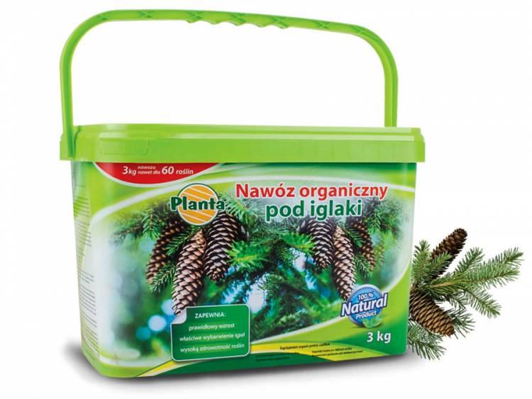 Nawóz do iglaków naturalny organiczny PLANTA 3kg
