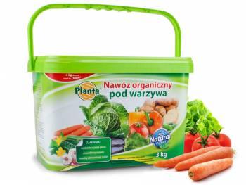 Nawóz do warzyw naturalny organiczny PLANTA 3kg