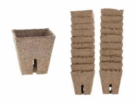 Doniczki torfowe do rozsad kwadratowe 5,8x5,8cm 20szt